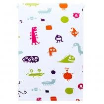 Persiana Rolô Blackout Enfant - 1,60x1,60m - Bichos - Evolux