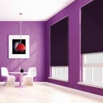 Persiana Rolô Blackout Nouvel Color - 1,20x1,60m - Beterraba - Evolux
