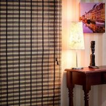 Persiana Romana em Bambu 1,00L x 1,60A - Nogueira - EverBlinds
