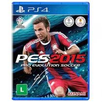 PES 2015 Pro Evolution Soccer - PS 4 - Sony