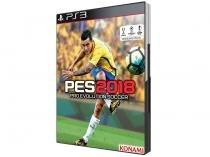 PES 2018 para PS3 - Konami Pré-venda