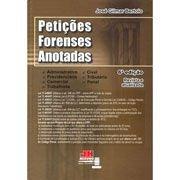 Peticoes Forenses Anotadas - Aut Sc - 6 Ed - 1