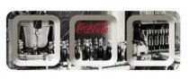 Petisqueira Coca Cola Fabric Work Com 3 Divisões - Coca-Cola