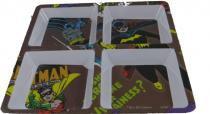 Petisqueira quadrada Batman com 4 divisões - comics