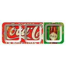 Petisqueira Retangular Chicken Salad Coca Cola Retrô - Versare Anos Dourados