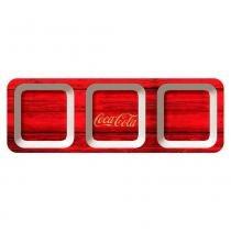 Petisqueira Retangular Classic Coca Cola Retrô - Versare Anos Dourados