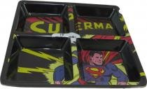 Petisqueira Superman com 4 divisões - Comics