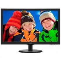Philips monitor 223v5lhsb2 - lcd 21.5 wide preto (hdmi, vesa 100x100) -