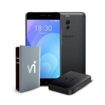 """Phonestation Meizu M6 Note Preto, Tela 5.5"""", 4GB Ram, 64GB, 4000 mAh, Câmara dupla -"""