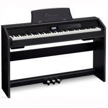 Piano Digital Casio Privia PX-780BK Com 88 Teclas 250 Timbres e 180 Ritmos - Casio