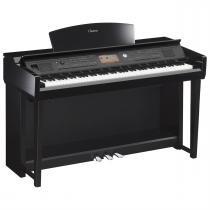 Piano Digital Clavinova Preto Cvp-705Pe Yamaha -