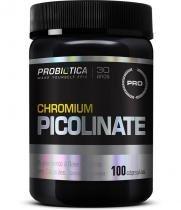 Picolinato de Cromo - 100 cápsulas - Probiotica - Probiótica