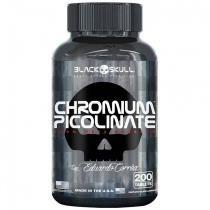 Picolinato de Cromo 200 Cápsulas - Black Skull -