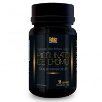 Picolinato De Cromo - 60 Cápsulas - Golden Nutrition - Golden Nutrition