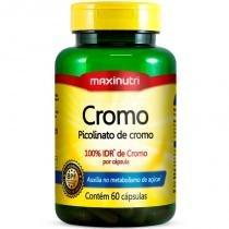 Picolinato de Cromo - 60 cápsulas - Maxinutri -