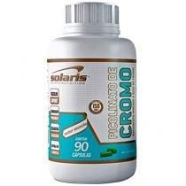 Picolinato de Cromo 90 Cápsulas - Solaris Nutrition