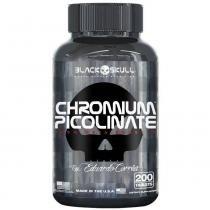 Picolinato De Cromo  - Black Skull - 200 Tablets -