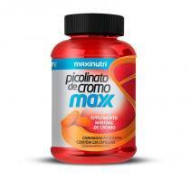 Picolinato de Cromo Maxx - 120 cápsulas - Maxinutri -