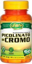 Picolinato de Cromo Unilife 60 capsulas 500mg -