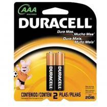 Pilha AAA  com 2 Peças - Duracell - Duracell