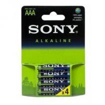 Pilha Alcalina Sony AAA Com 4 Unidades AM4LB4D - Sony