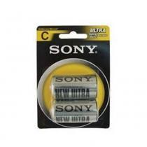 Pilha C Média - Sony -