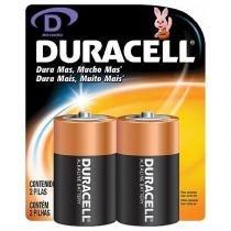 Pilha D - Duracell - Duracell