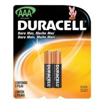 Pilha duracell palito aaa com 2 unidades - Procter