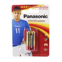 Pilha Panasonic alcalina AAA com 2 unidades -