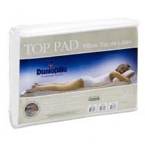 Pillow top de Látex Casal Queen size capa bambu 198X158X3 cm Top Pad Dunlopillo - COPESPUMA