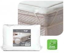 Pillow Top King Size Fibras Petfom Trisoft -
