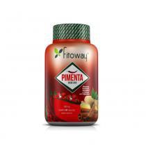 Pimenta fitoway (pimenta+gengibre+canela+guaraná) - 60 caps -