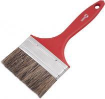 """Pincel 4"""" cerda gris cabo plástico para tintas latéx e acrílica - Nove54 - Nove54"""