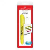 Pincel marca texto gel blist - SM/1557 - amarelo - com 1 unidade - Faber-Castell -