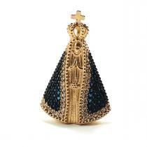 Pingente em ouro 18k Nossa Senhora Aparecida - 7 grama - MidasStore