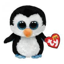 Pinguim de Pelúcia TY Beanie Boos Waddles 22cm -