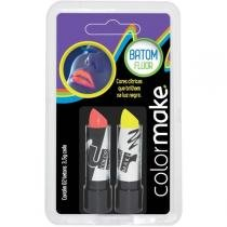 Pintura Facial Batom Color Make Fluor Am/Vm Ct.C/02 Yur - Yur