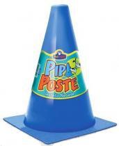 Pipi Poste Educador Sanitário Pequeno Pet Injet Azul -