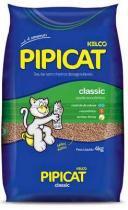 Pipicat Classic - Areia Higiênica-Fardo com 6 UN de 4kg - Kelco