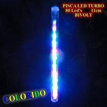 Pisca led turbo snow fall colorido com 8 tubos de 11cm bi-volt 1341 - Commerce brasil