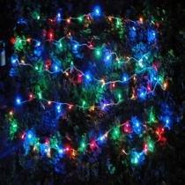 Pisca pisca luminoso colorido 110v 1041 4 fases 100 led - Xl