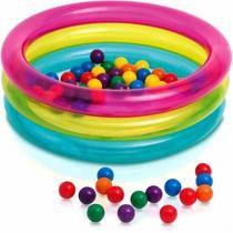 Piscina de Bolinhas Intex Infantil com 50 Bolinhas 48674 - Intex