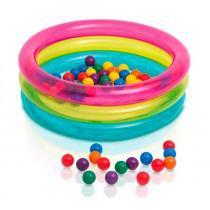Piscina de Bolinhas Multi Color - Intex -