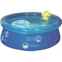 Piscina Easy Set 1000L Splash Fun 1048 Mor -