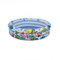 Piscina Infantil Fundo do Mar 110 Litros 1778 - Mor -