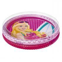 Piscina Inflável Infantil 135 Litros Barbie Fashion 7731-1 Fun - Fun