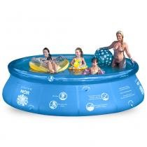 Piscina Inflável Redonda 7800 Litros MOR Splash Fun - 1051 - Mor