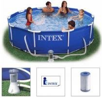 Piscina Intex 4485 Litros Estrutural com Bomba Filtrante 110v 28201 - Intex