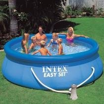 Piscina Intex 6734 Litros com Bomba Filtro 110v 28145 - Intex