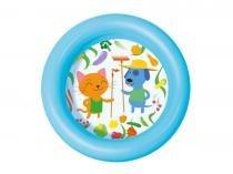 Piscina kiddie pool 61,0x15,0cm 21 litros cores sortidas com 24 unidades - Bel Lazer - Bel Lazer